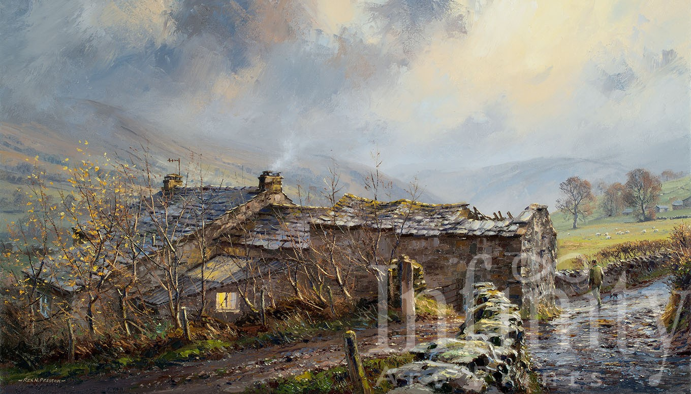 Late Afternoon Light, Dentdale
