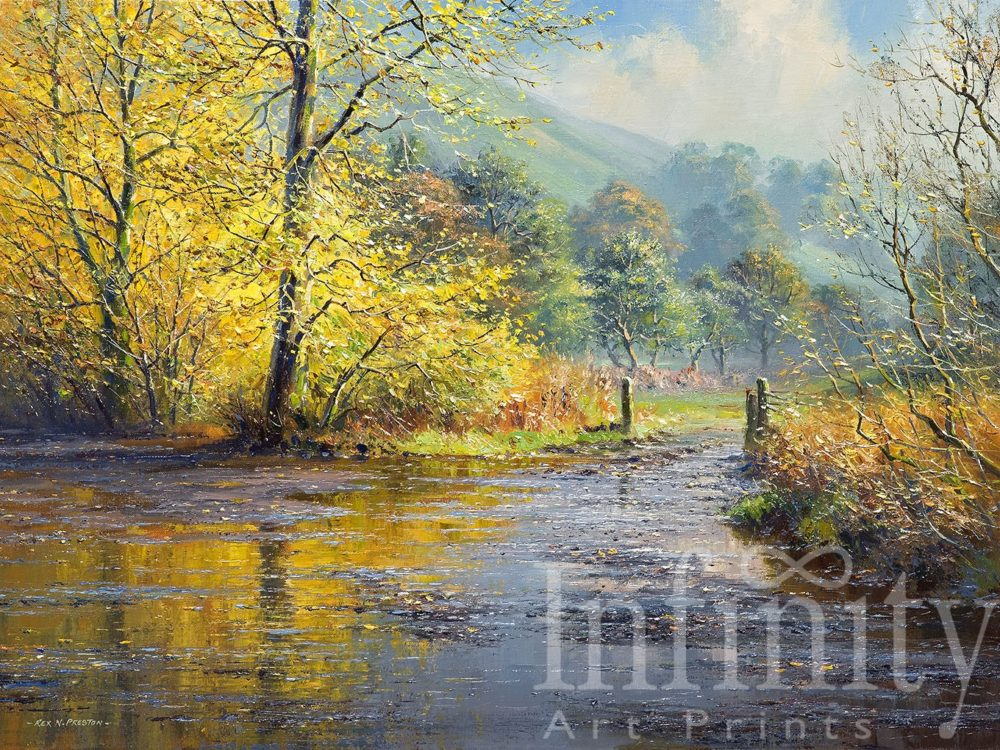 After the Rain, Beresford Dale