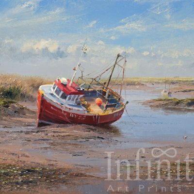 Low Tide, Brancaster Staithes