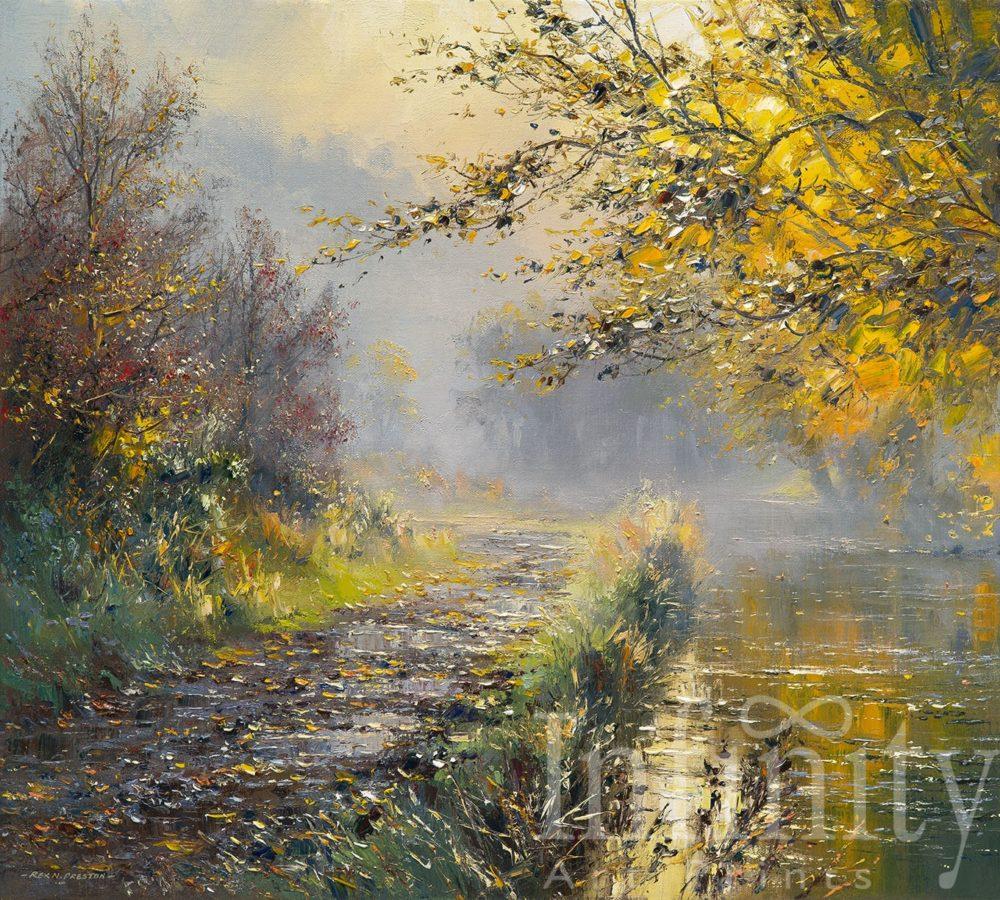 Autumn Sunlight, Wolfscote Dale