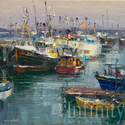 Fishing Boats, Newlyn Harbour