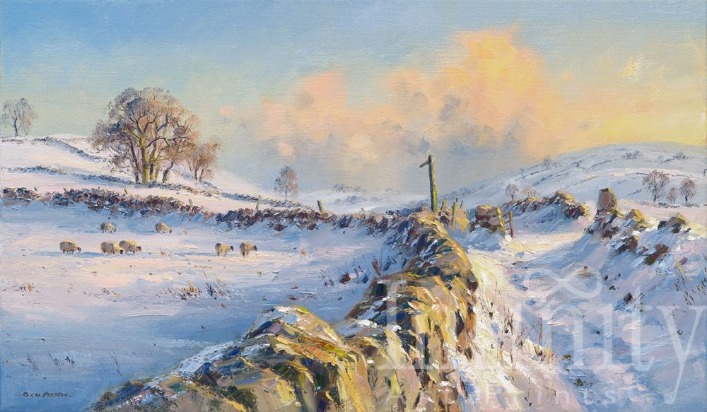 December Afternoon, near Hartington