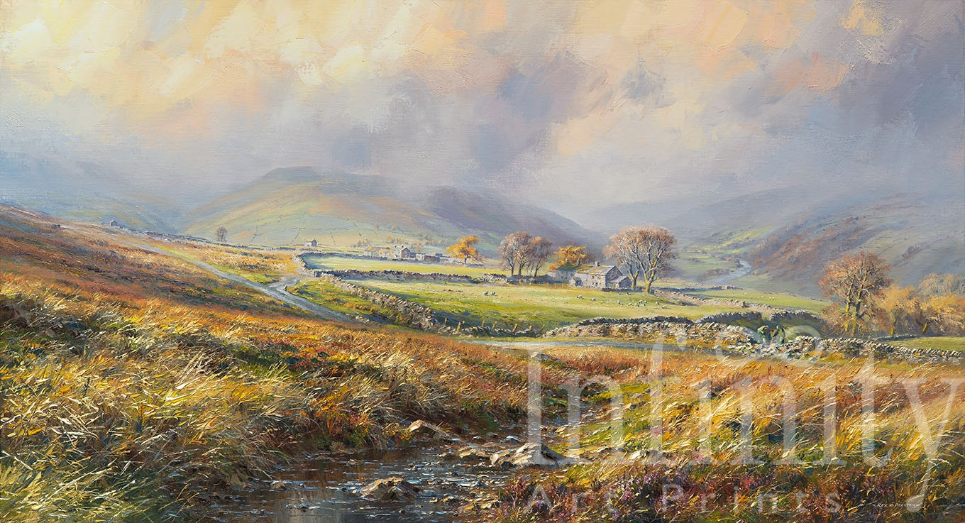 Late Autumn, above Swaledale
