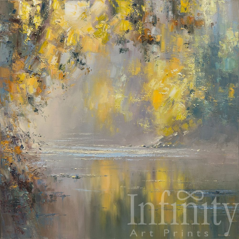 Autumn Reflections, River Derwent