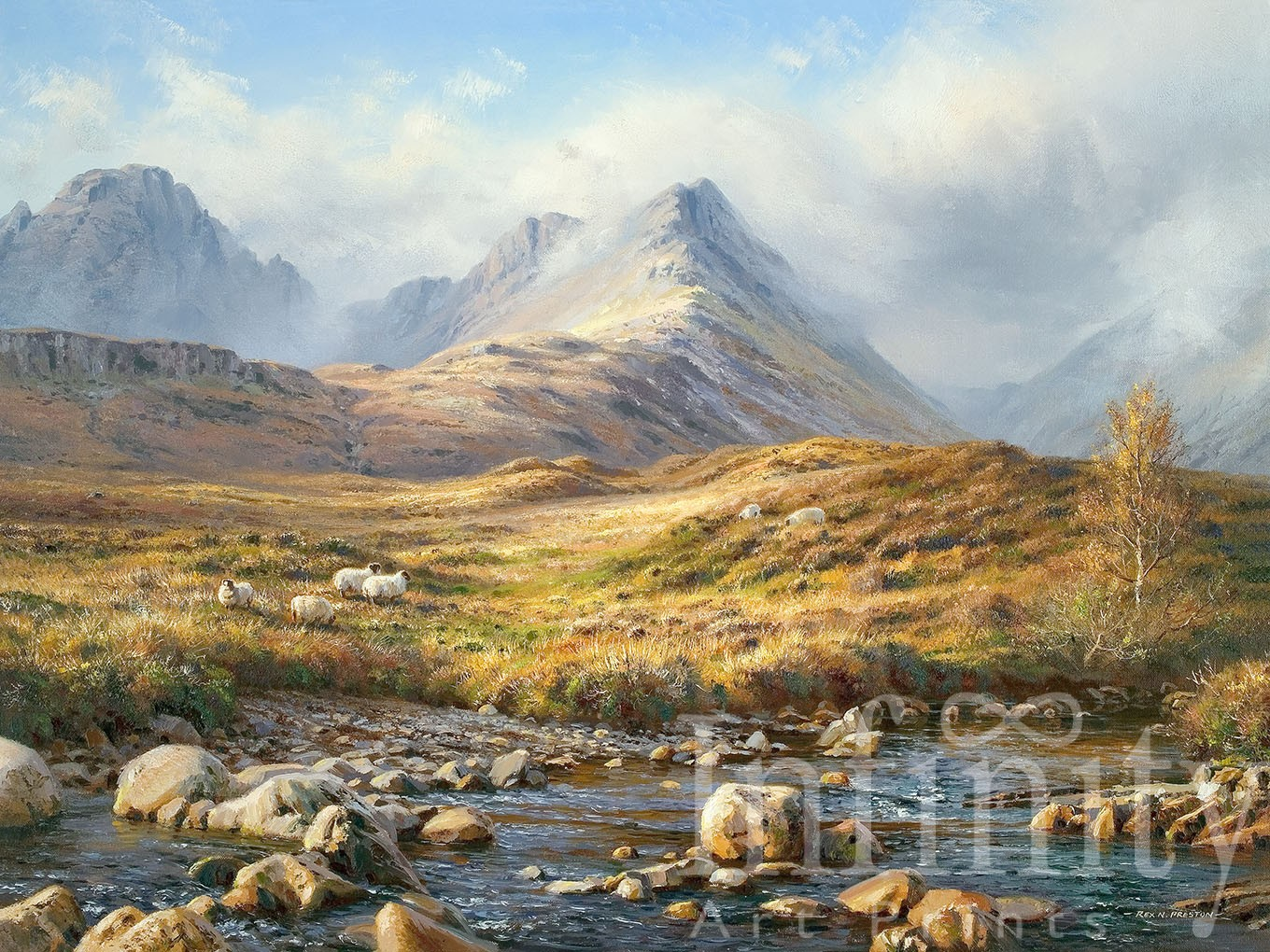 Autumn Landscape, Isle of Skye