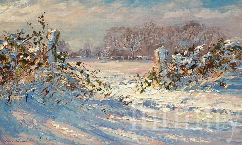 Fresh Snow, Brailsford - Mark Preston