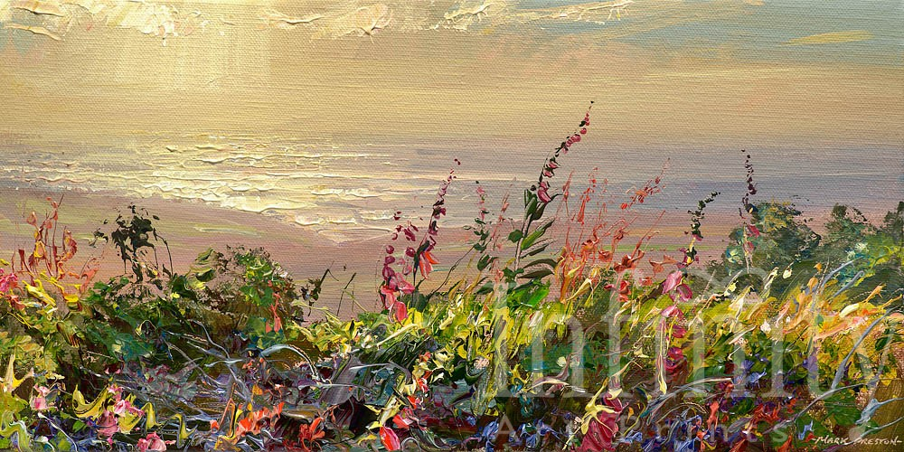 Summer Evening, Rosewall Hill - Mark Preston