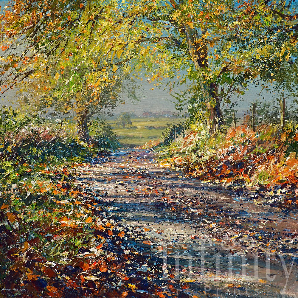 Clear Autumn Day, Gun Hills - Mark Preston