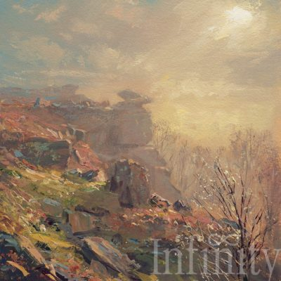 Misty Light, Froggatt Edge - Mark Preston