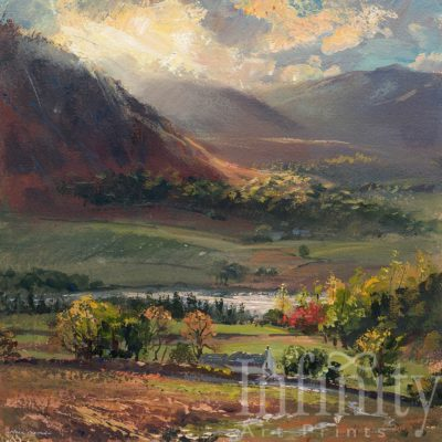 October Sunlight, Crummock Water - Mark Preston