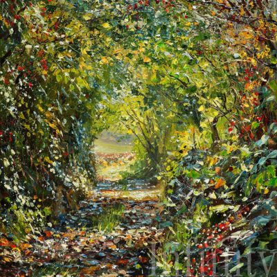 Sunlit Lane - Mark Preston