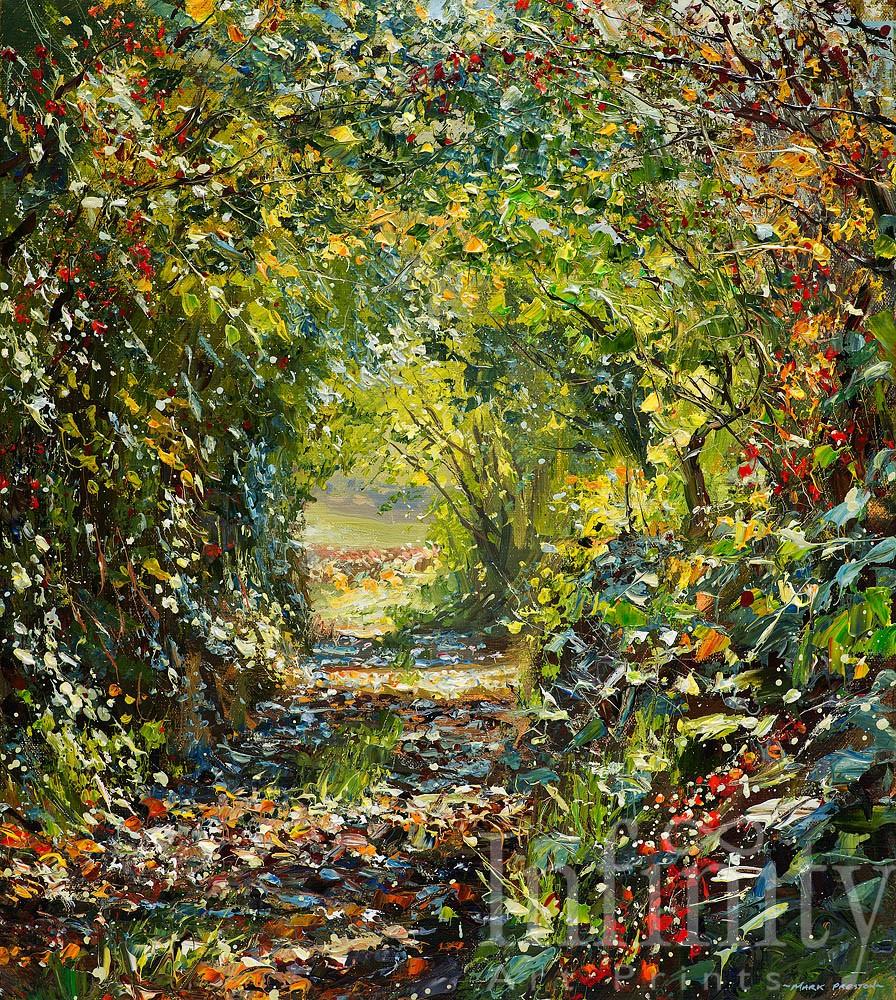 Sunlit Lane - Mark Preston